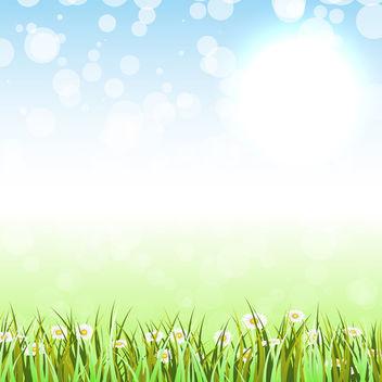 Spring Grass - Kostenloses vector #340715