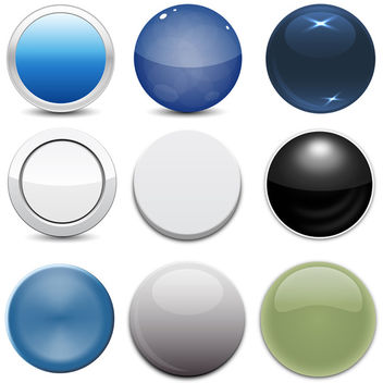 Buttons - Kostenloses vector #340725