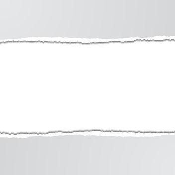 Vector Torn Paper - vector gratuit #340925