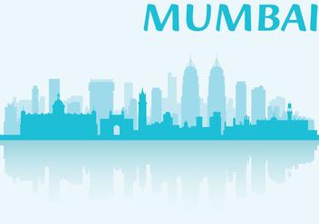 Mumbai Skyline - vector #341805 gratis