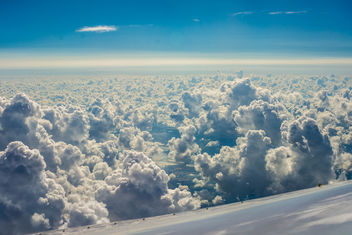Clouds from above - image gratuit(e) #342455