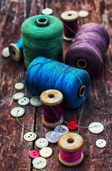 Colorful objects for sewing - бесплатный image #342895