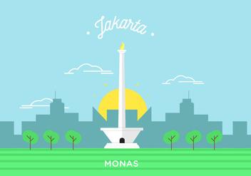 Monas Vector - vector #343005 gratis