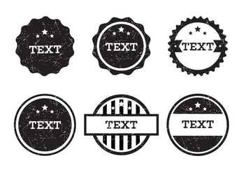 Vintage Badge Vectors - Free vector #343175
