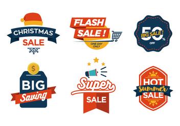 Vector Sale Symbols - Kostenloses vector #343205