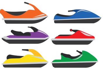 Jet Ski Vector - Free vector #343315