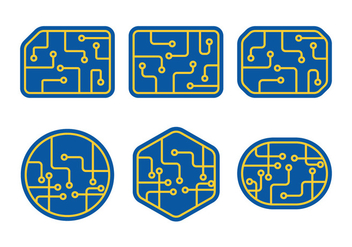 Circuit Board - vector #343655 gratis