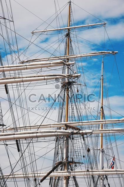 A three-masted ship in Norway - Free image #344025