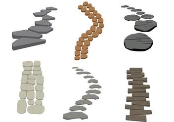 Stone Path Vector - Kostenloses vector #345365