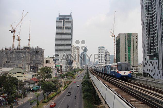 Вид на метро и архитектуры, Бангкок, Таиланд - бесплатный image #346245