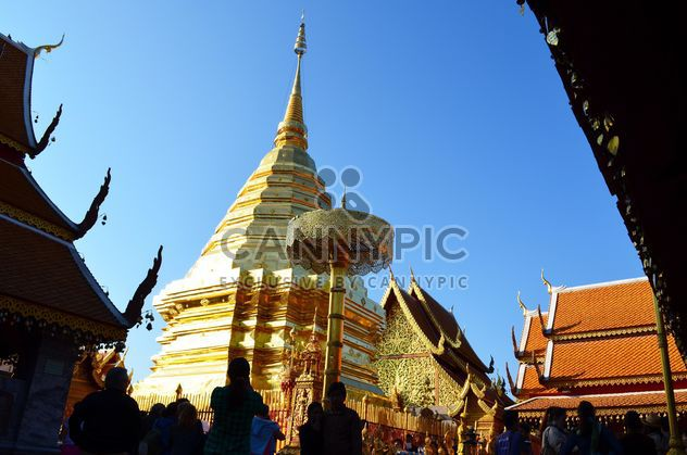 Thai temple in Chiangmai, Thailand - Free image #346285