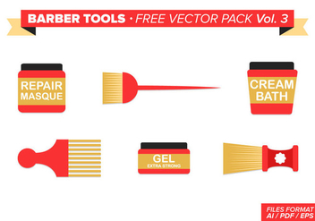 Barber Tools Free Vector Pack Vol. 3 - Free vector #346405