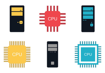 Free CPU vector Illustration - Free vector #346655