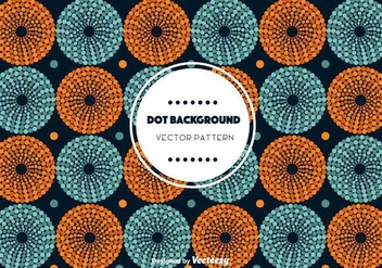 Circle Dot Background Vector - Free vector #346765