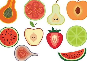 Free Fruit Vectors - бесплатный vector #347435
