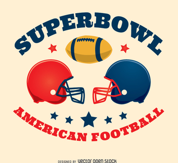Helmets Americann Football design - vector gratuit #347675