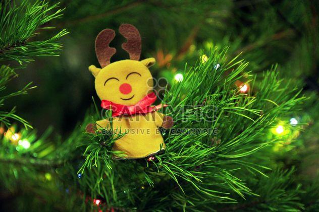 Veado de brinquedo na árvore de Natal - Free image #347915