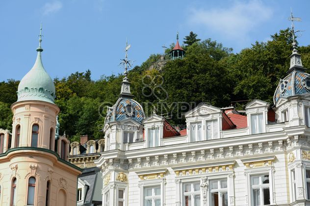 Traditional Czech architecture in Karlovy Vary - image gratuit #348515
