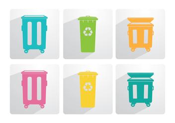 Dumpster Vector - Kostenloses vector #348855