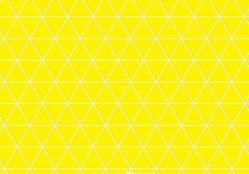 Yellow Triangles Background - vector #349145 gratis