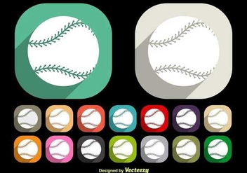 Baseball Laces Vectors - Free vector #349285