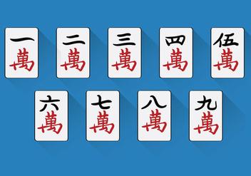 Chinese Mahjong Vector - Free vector #349505