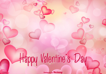 Beautiful Valentine's Day Vector Illustration - бесплатный vector #349705
