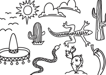 Free Dessert Mexico Vectors - Kostenloses vector #349755