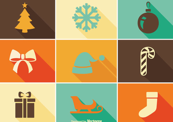 Christmas Icon Set - Free vector #350155
