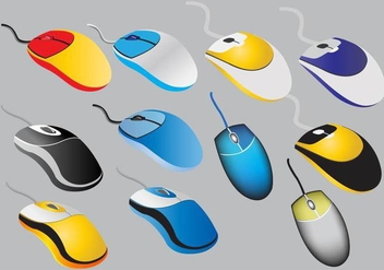 Mouse Vectors - Free vector #350435