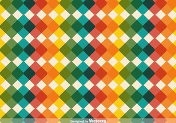 Modern Checkered Vector Background - vector gratuit #350475