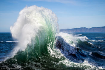 Exploding Waves - Cape Kiwanda, OR - Free image #351315