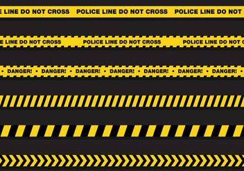 Vector Police Line - Kostenloses vector #351945