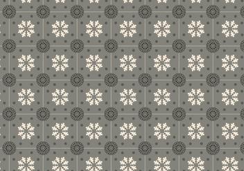 Grey Mosaic Pattern Vector - vector #352315 gratis
