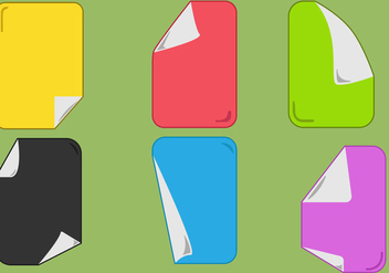 Paper Flip Vectors - Free vector #352375