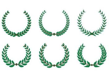 Olive Wreath Vector - Kostenloses vector #352525