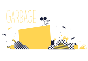 Free Garbage Vector - Kostenloses vector #352575