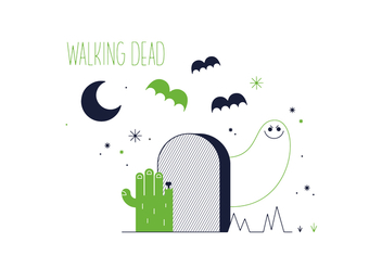 Free Walking Dead Vector - vector #352605 gratis