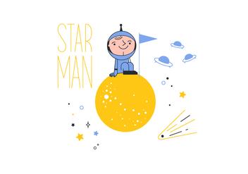 Free Starman Vector - Free vector #352625