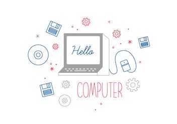 Free Computer Vector - Kostenloses vector #352655