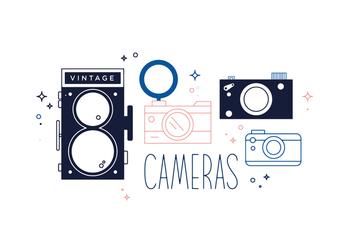 Free Cameras Vector - Kostenloses vector #352665