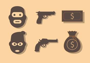Robber Vector - бесплатный vector #352935