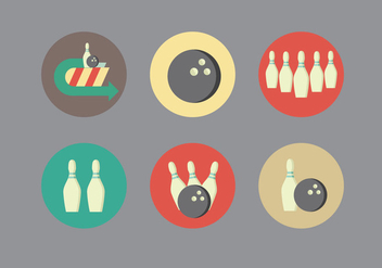 Bowling Alley Vector - бесплатный vector #352975