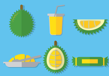 Durian Vector - Free vector #353225