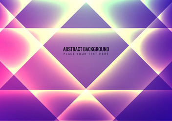Abstract Background With Colorful Light Effect - Free vector #355105