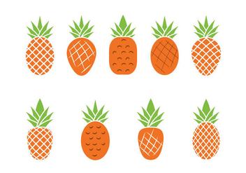 Free Ananas Vector Illustration - vector #355335 gratis