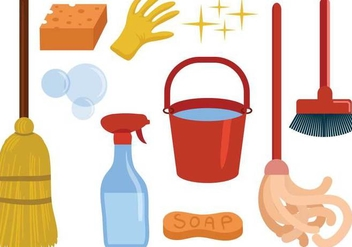 Free Cleaning Vectors - бесплатный vector #355705