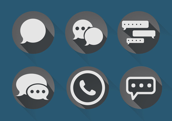 Imessage Vector - Free vector #356015
