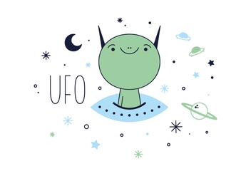 Free UFO Vector - Kostenloses vector #356115