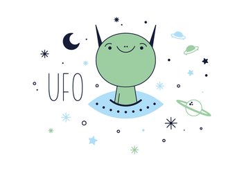 Free UFO Vector - Free vector #356115